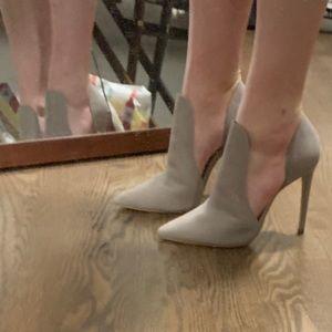 Steve Madden gray booties size 7